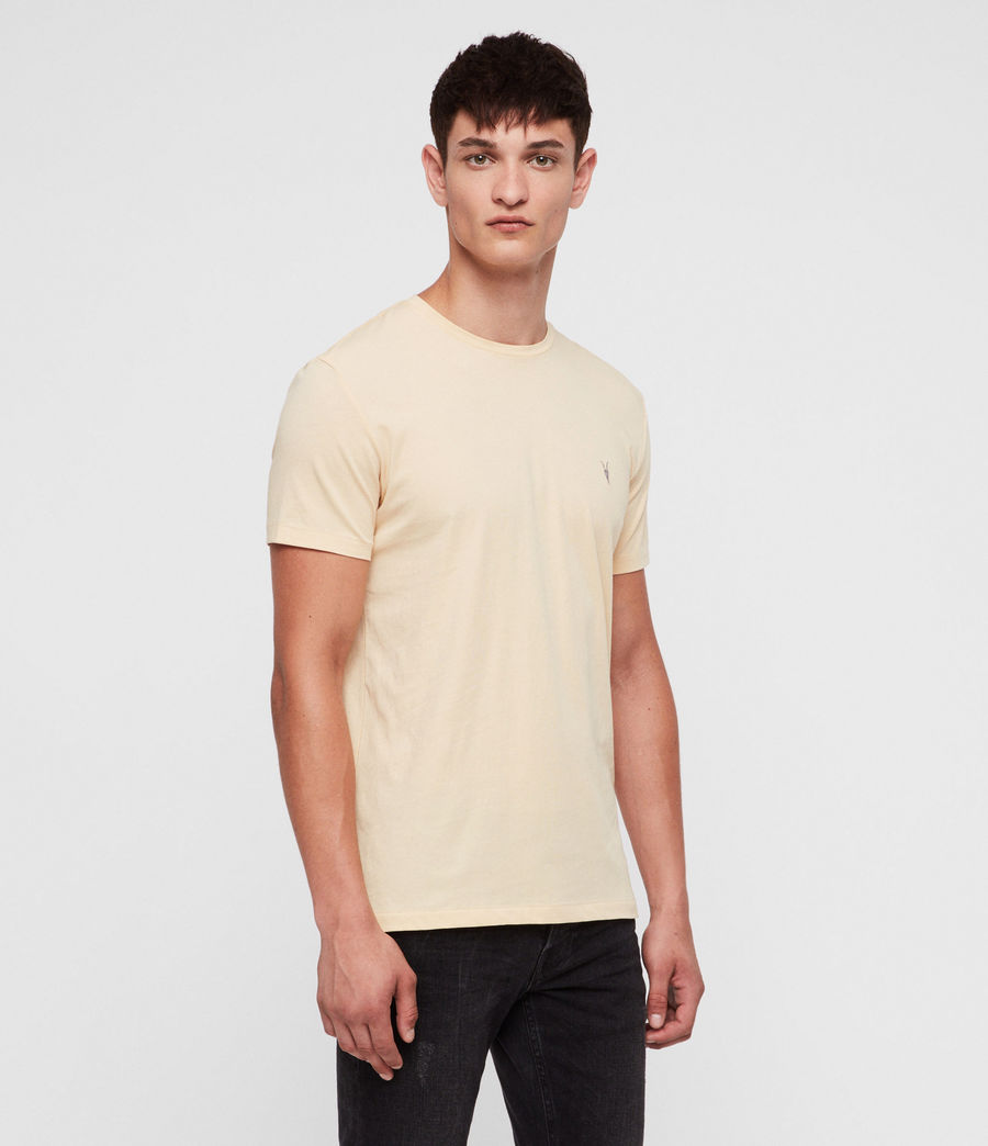 Herren Tonic T-Shirt (wash_solar_yellow) - Image 3