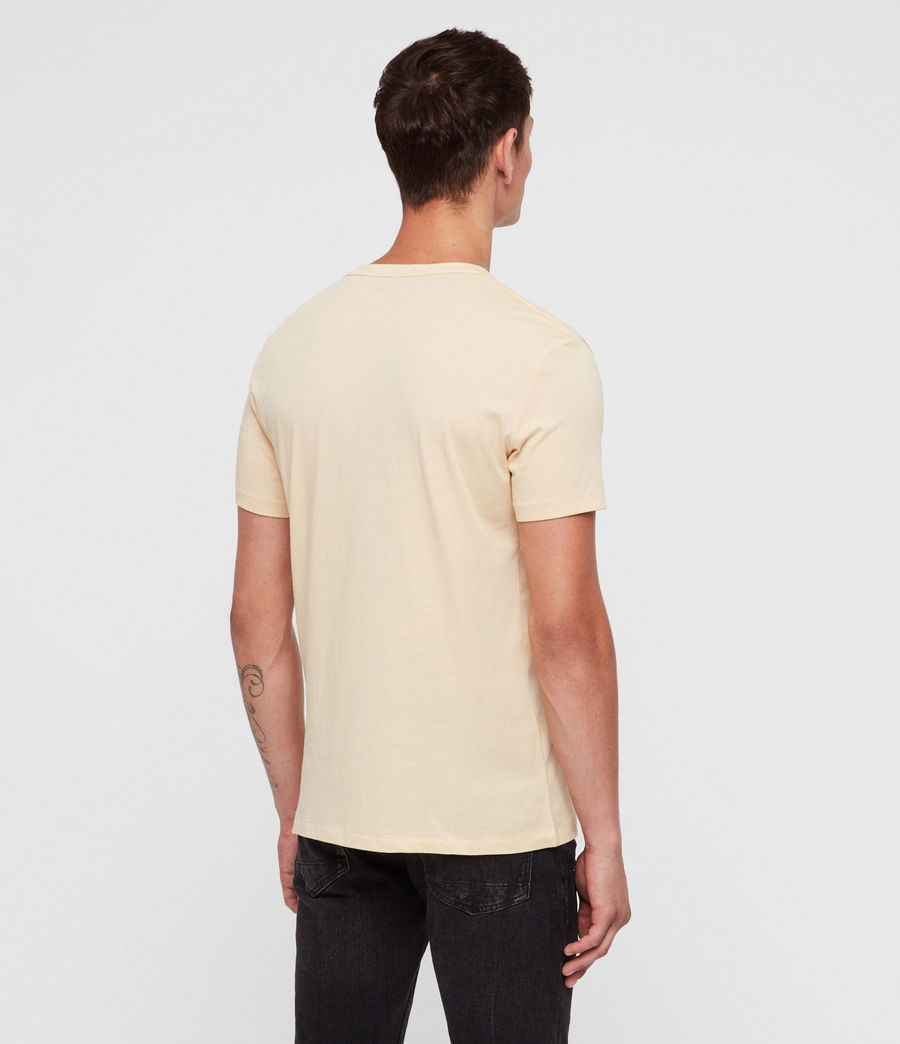 Men's Tonic Crew T-Shirt (wash_solar_yellow) - Image 4