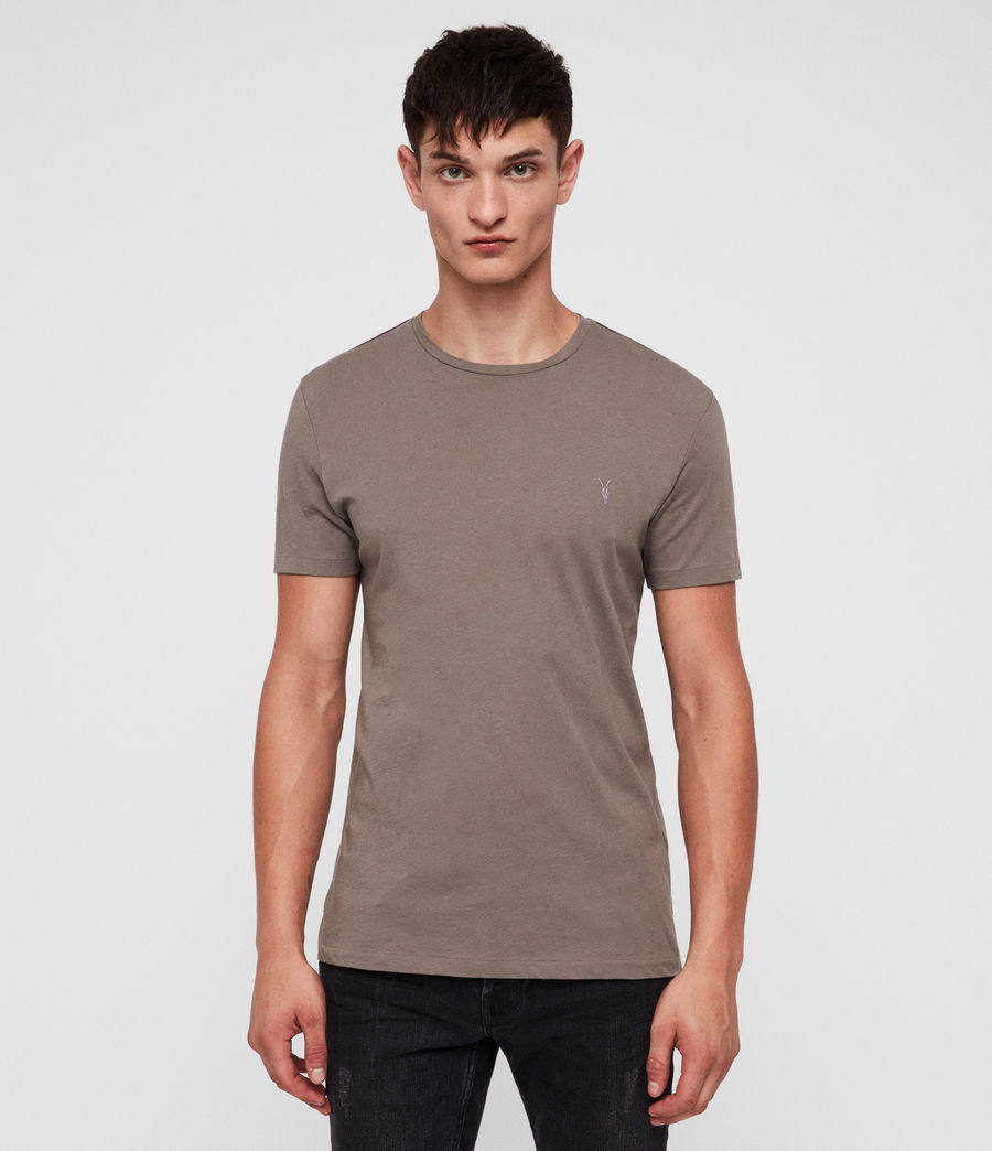 Uomo Tonic Crew T-Shirt (core_grey) - Image 1