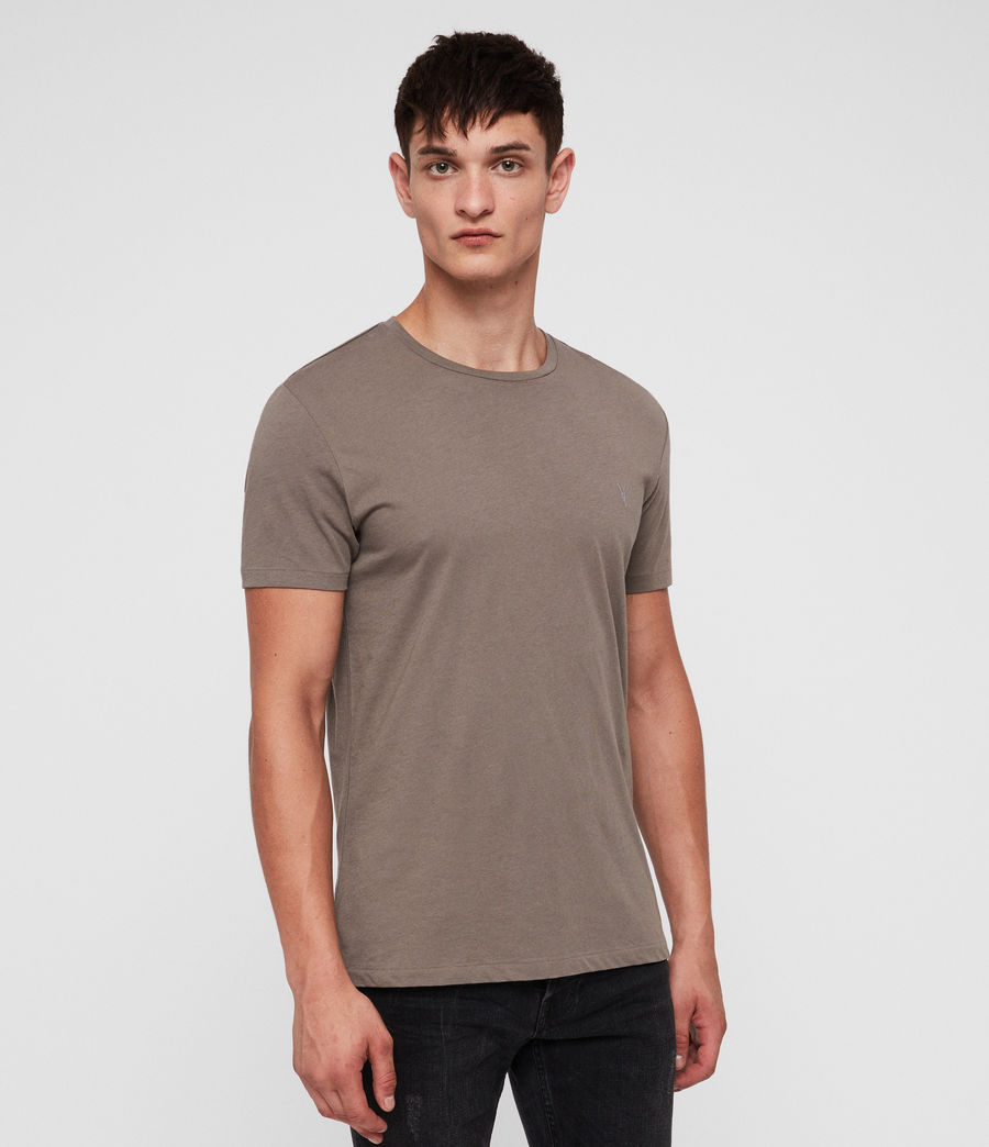 Uomo Tonic Crew T-Shirt (core_grey) - Image 3
