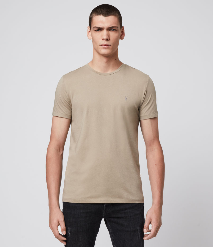 Mens Tonic Crew T-Shirt (sutro_grey) - Image 1