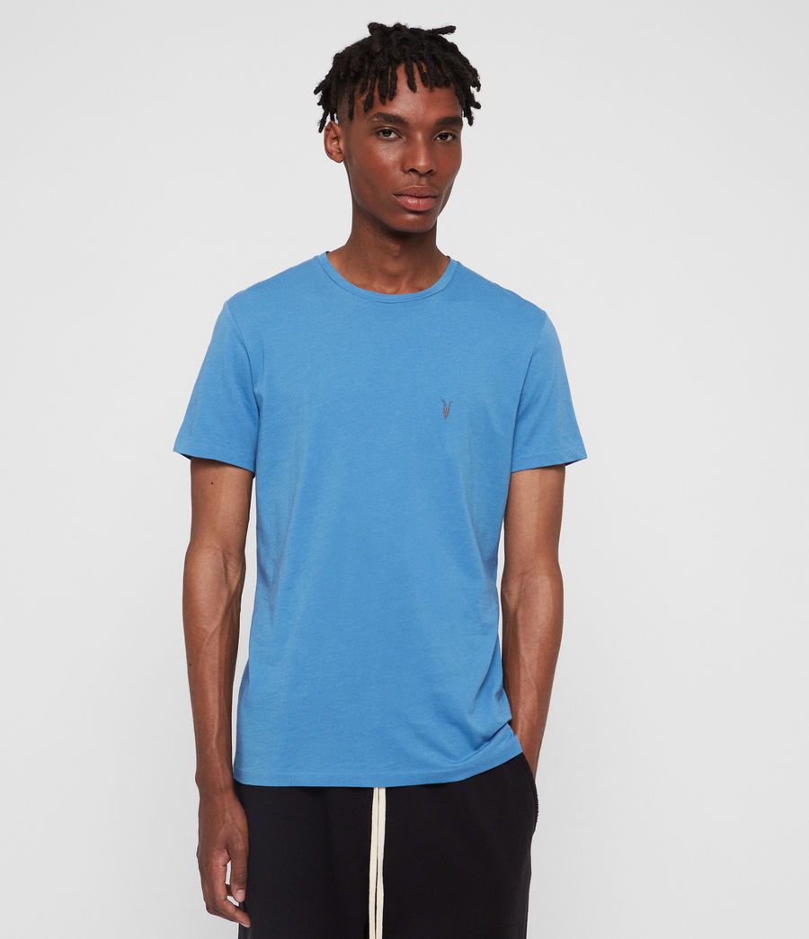 Mens Tonic Crew T-Shirt (atlantic_blue) - Image 1