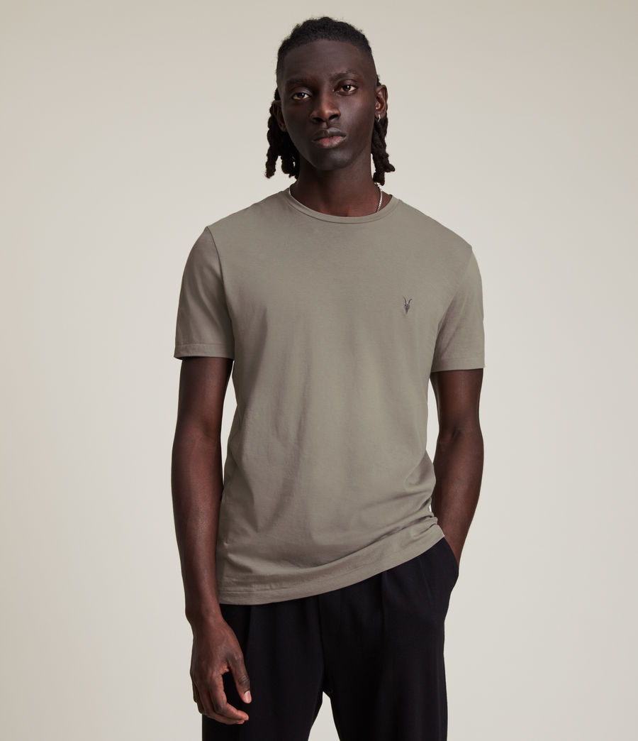 Mens Tonic Crew T-Shirt (flint_grey) - Image 1