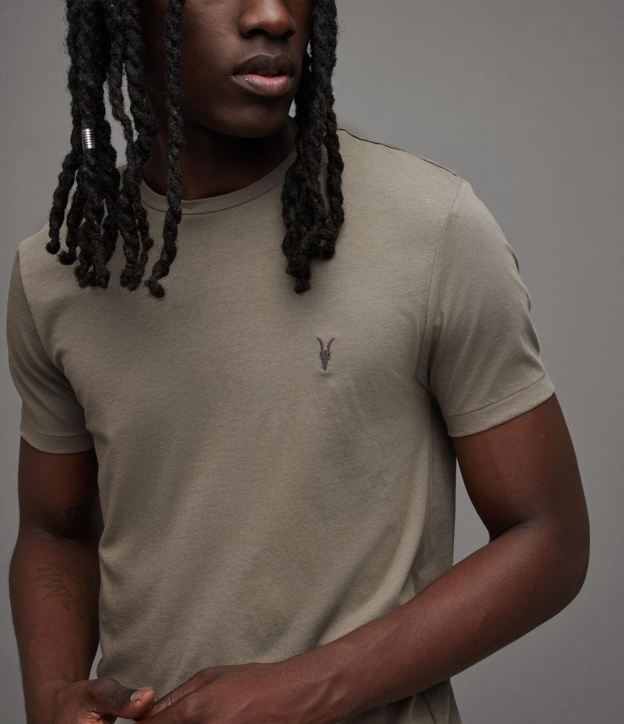 Mens Tonic Crew T-Shirt (flint_grey) - Image 2