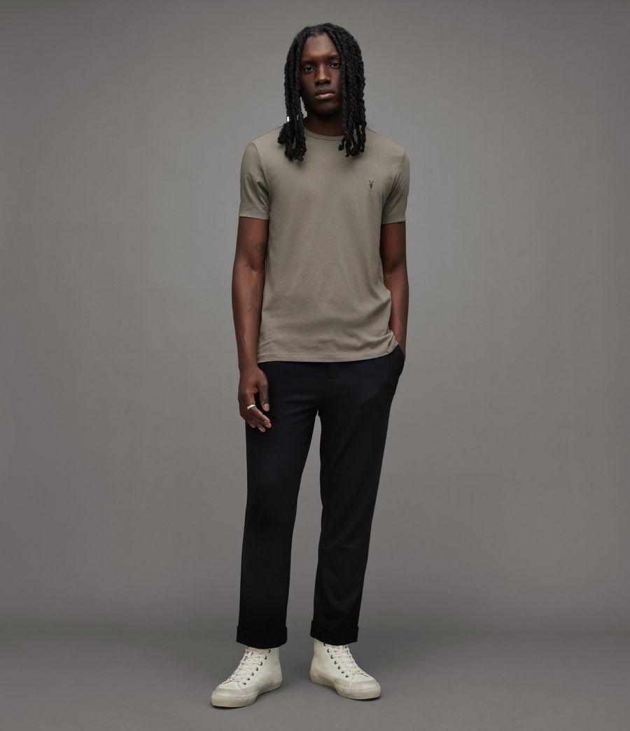 Mens Tonic Crew T-Shirt (flint_grey) - Image 3