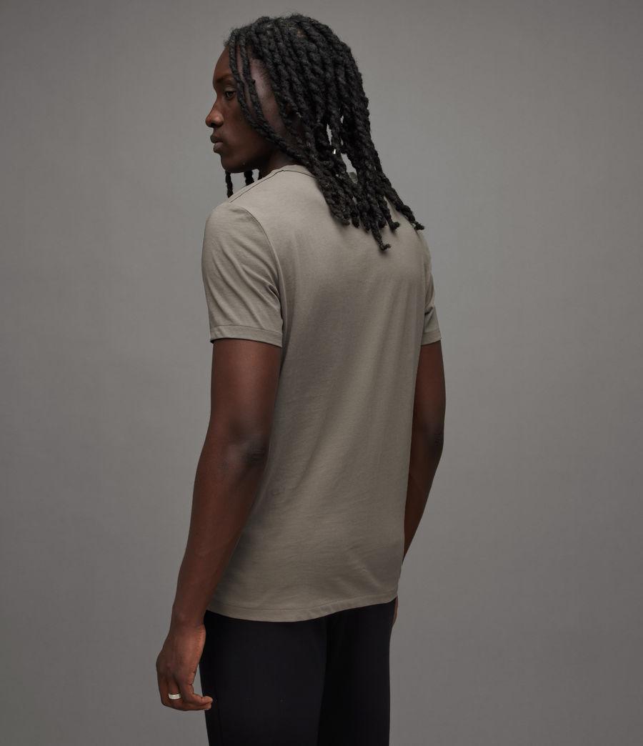 Mens Tonic Crew T-Shirt (flint_grey) - Image 4