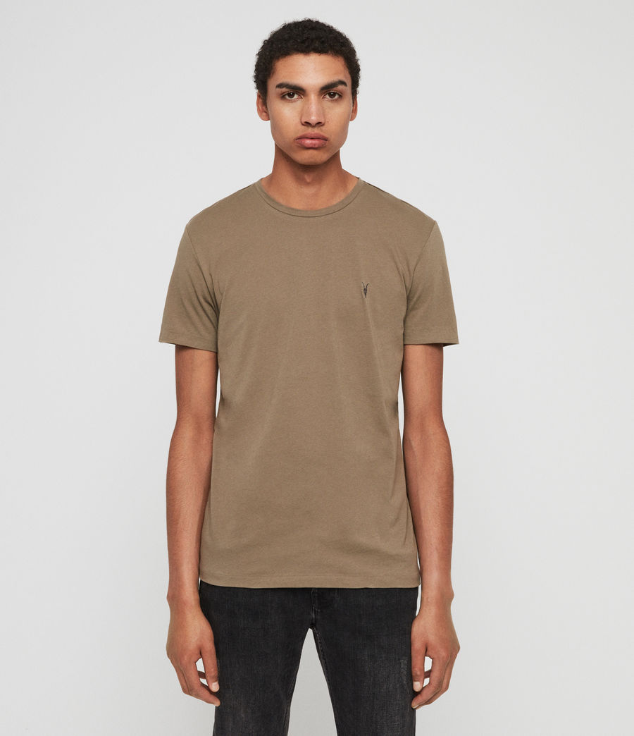 Mens Tonic Crew T-Shirt (beech_green) - Image 1
