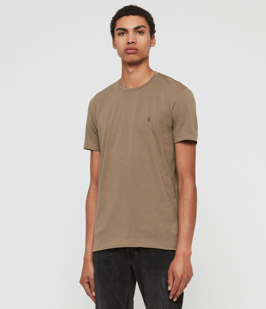 Mens Tonic Crew T-Shirt (beech_green) - Image 2