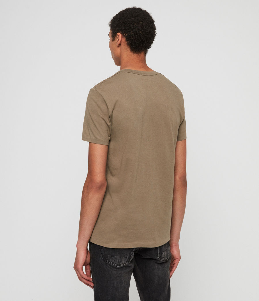 Mens Tonic Crew T-Shirt (beech_green) - Image 5
