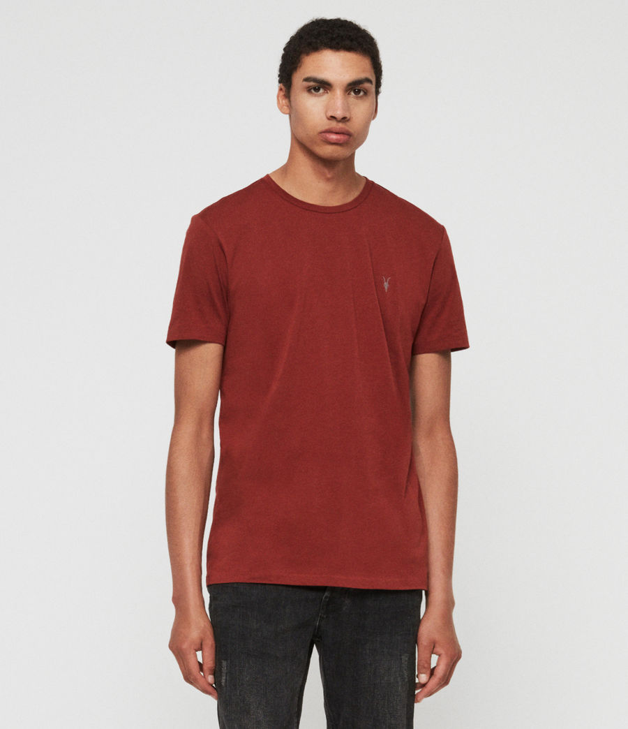 Mens Tonic Crew T-Shirt (vista_red) - Image 1