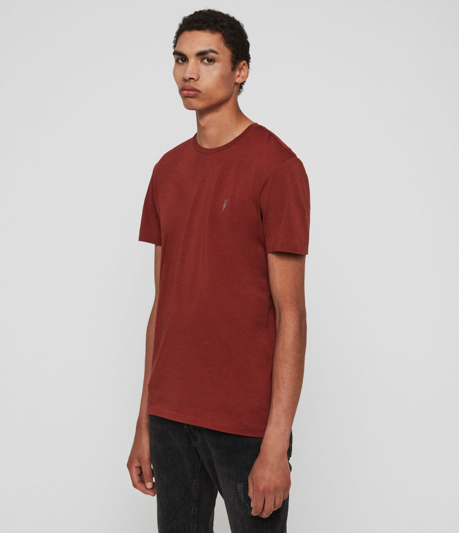 Mens Tonic Crew T-Shirt (vista_red) - Image 2