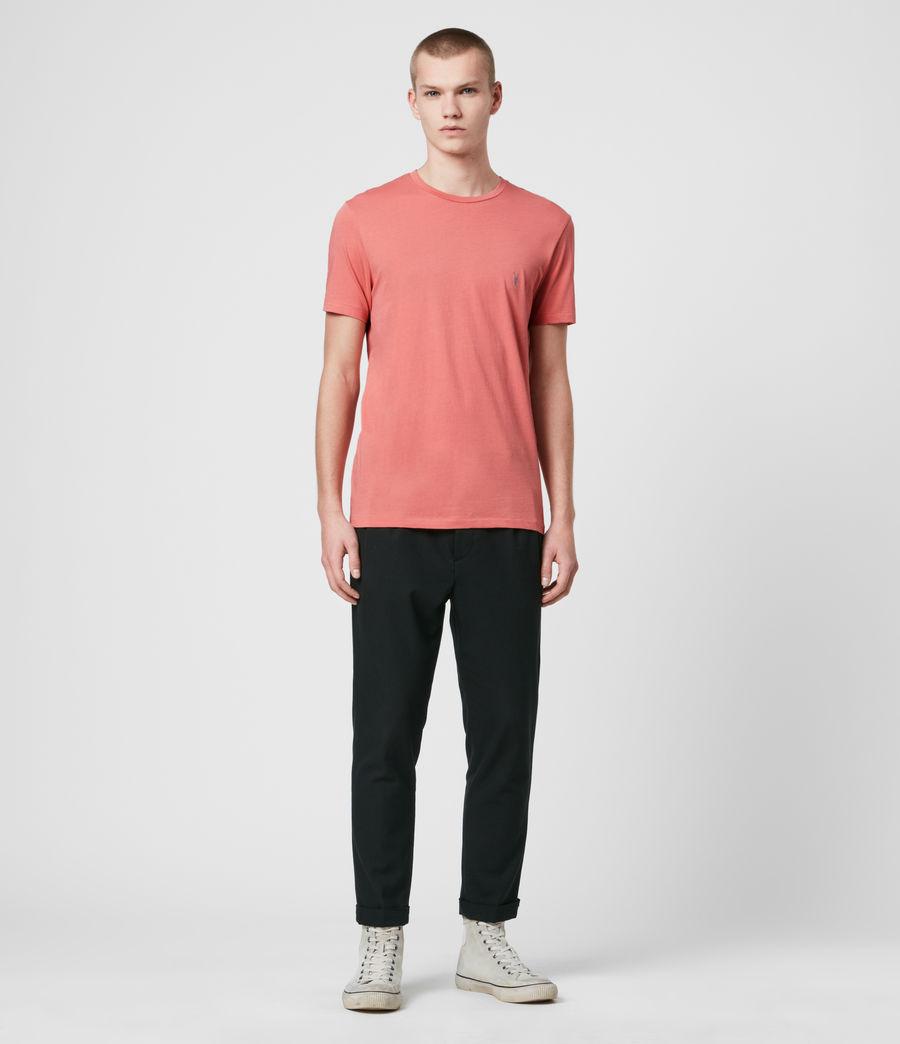 Hombre Tonic Crew T-Shirt (melon_pink) - Image 3