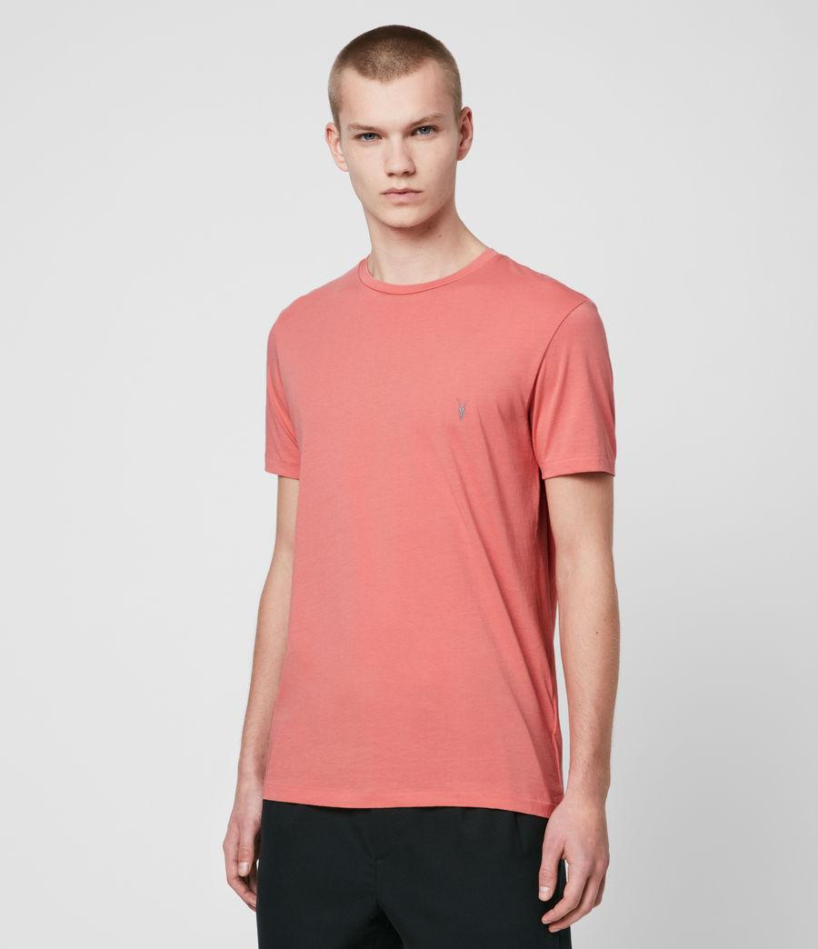 Hombre Tonic Crew T-Shirt (melon_pink) - Image 4