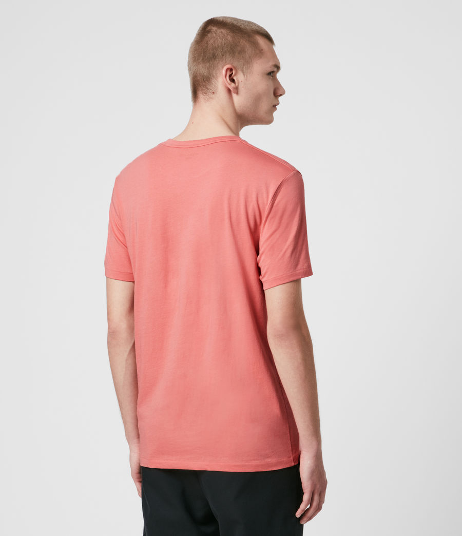 Hombre Tonic Crew T-Shirt (melon_pink) - Image 5