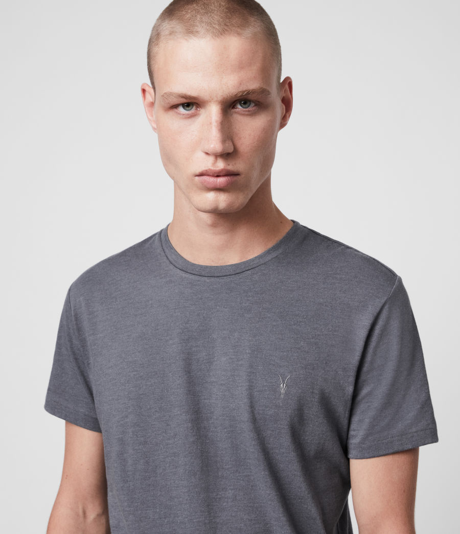 Mens Tonic Crew T-Shirt (grey_marl) - Image 2