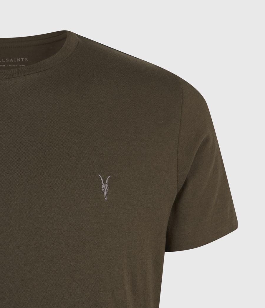 Mens Tonic Crew T-Shirt (optic_white) - Image 4