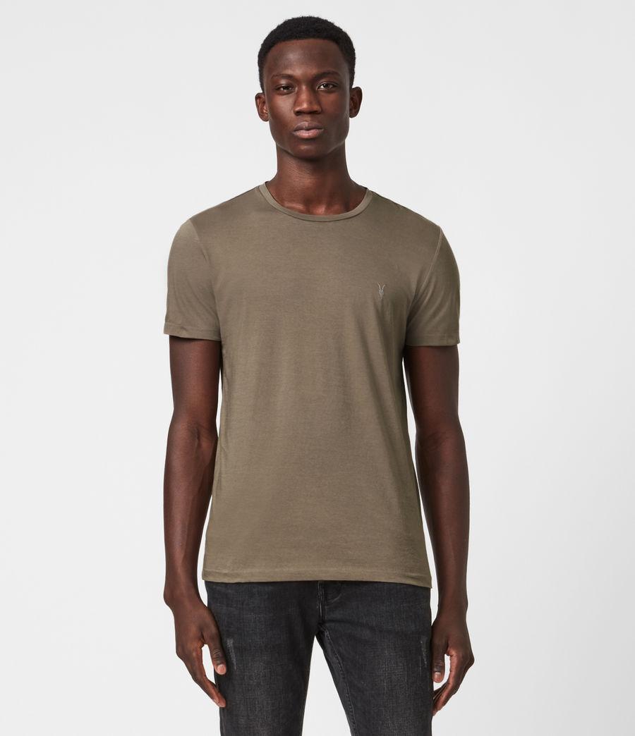 Mens Tonic Crew T-Shirt (burnished_grey) - Image 1