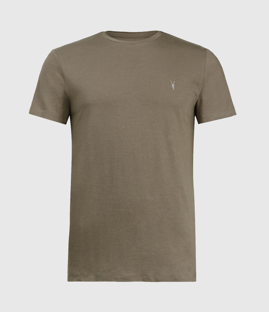 Mens Tonic Crew T-Shirt (burnished_grey) - Image 2