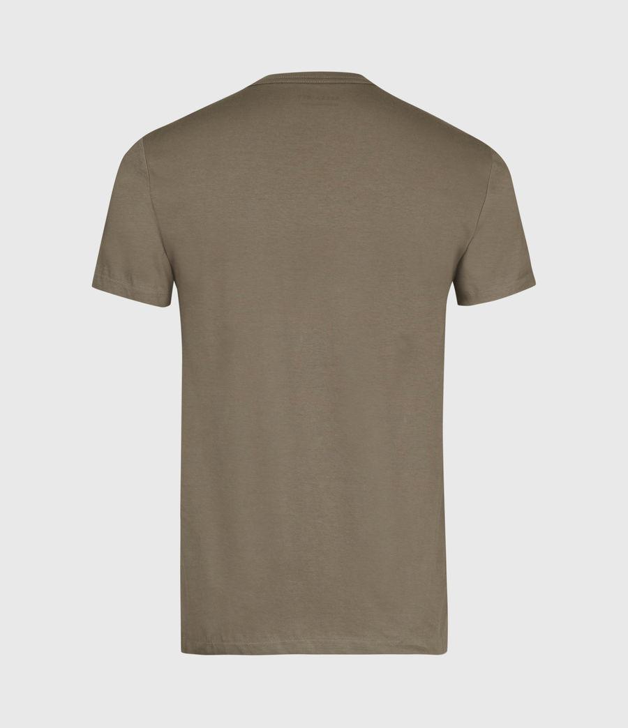 Mens Tonic Crew T-Shirt (burnished_grey) - Image 3