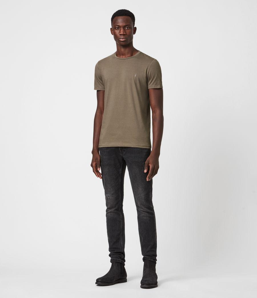 Mens Tonic Crew T-Shirt (burnished_grey) - Image 4