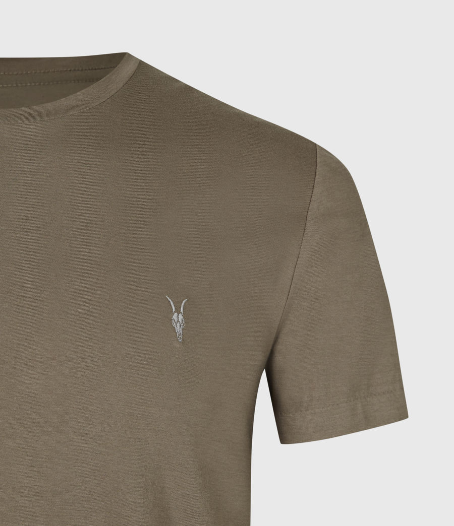Mens Tonic Crew T-Shirt (burnished_grey) - Image 5