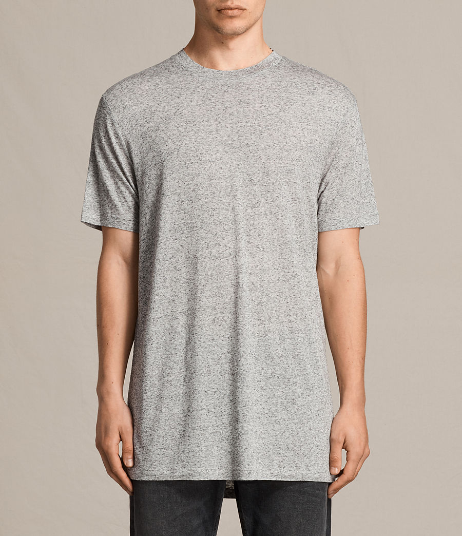 Hommes T-Shirt Towal (light_grey_marl) - Image 1