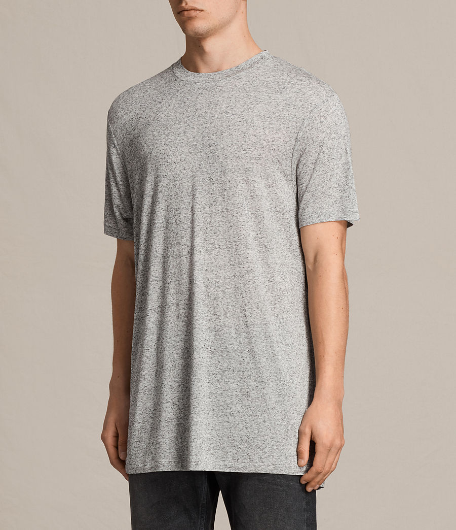 Hommes T-Shirt Towal (light_grey_marl) - Image 2