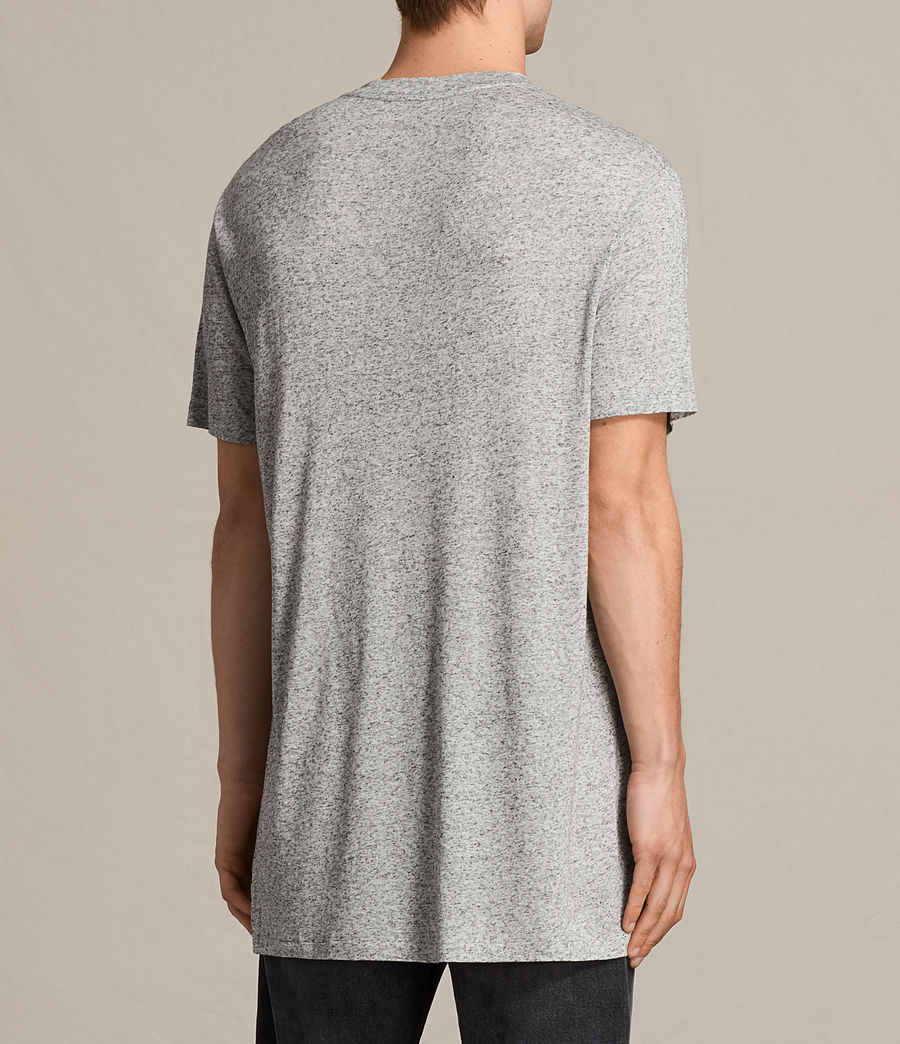 Hommes T-Shirt Towal (light_grey_marl) - Image 3