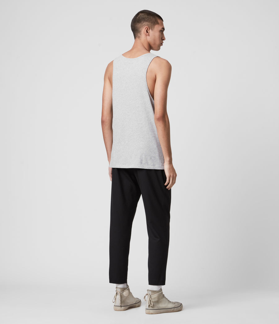 Mens Tonic Tank (grey_marl) - Image 4
