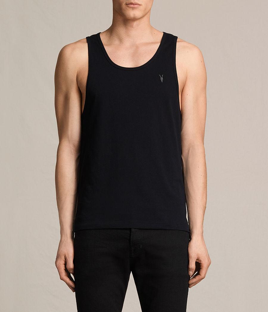 Mens Tonic Tank (ink_navy) - Image 1