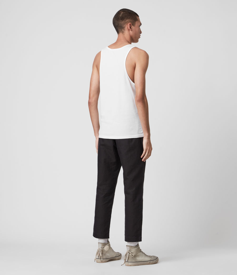 Men's Tonic Vest (optic_white) - Image 5