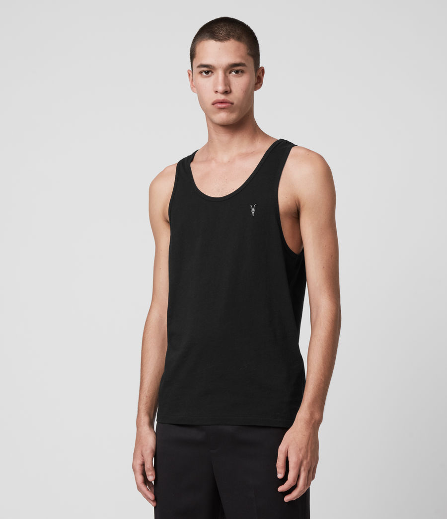 Mens Tonic Tank (jet_black) - Image 4
