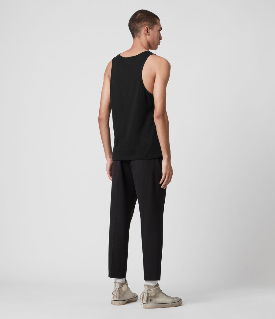 Mens Tonic Tank (jet_black) - Image 5