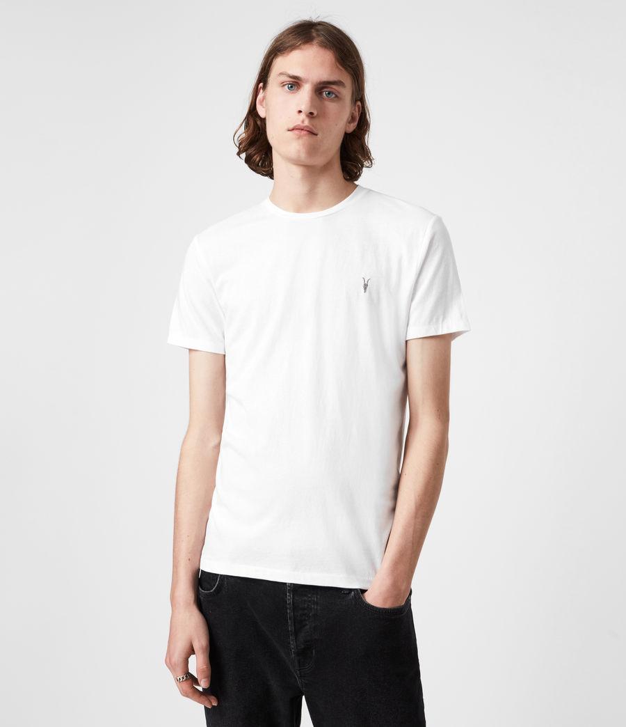 Hommes Pack de 3 T-Shirts Tonic (pink_grey_ml_white) - Image 5