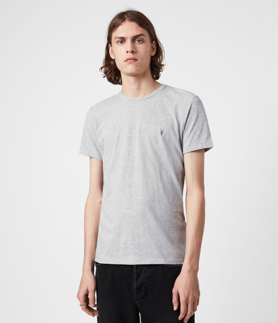 Hommes Pack de 3 T-Shirts Tonic (pink_grey_ml_white) - Image 7