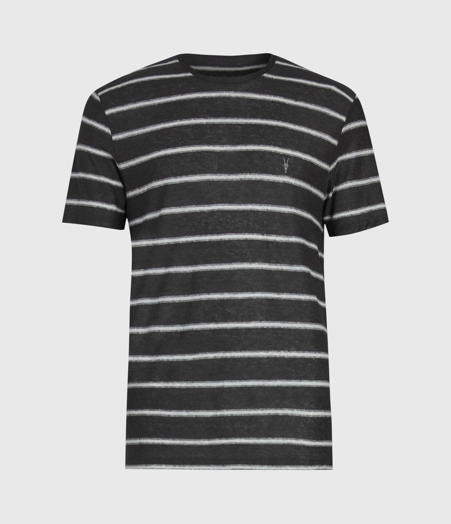 Herren Vehicle Rundhals T-Shirt (wshd_blk_chalk_wht) - Image 2