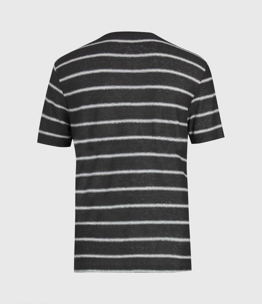Herren Vehicle Rundhals T-Shirt (wshd_blk_chalk_wht) - Image 3
