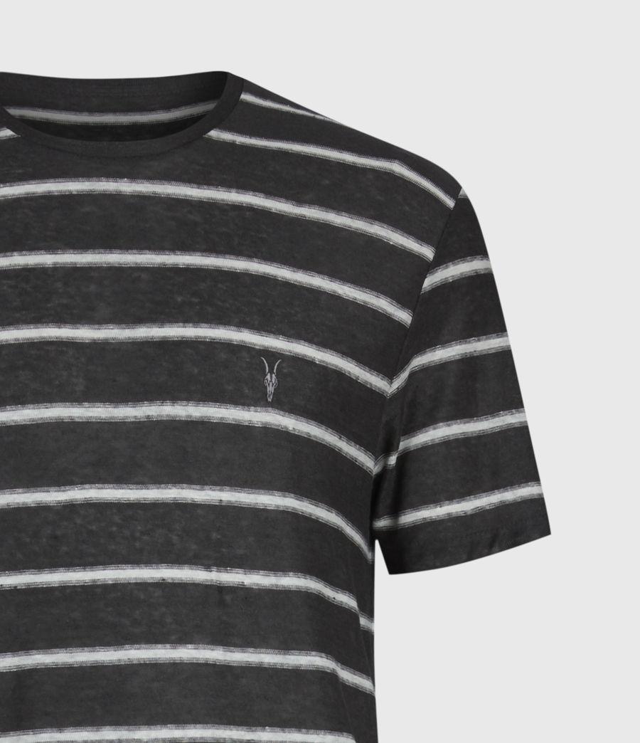 Herren Vehicle Rundhals T-Shirt (wshd_blk_chalk_wht) - Image 5