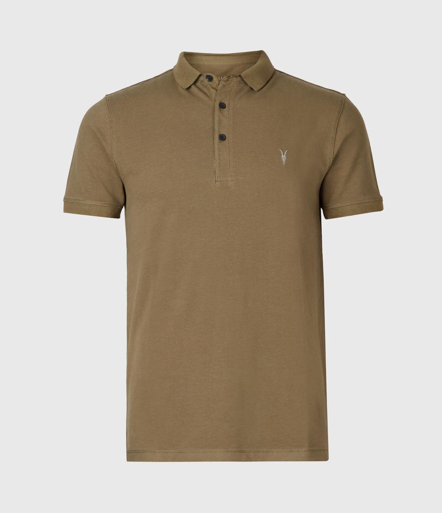 Men's Reform Short Sleeve Polo Shirt (saguaro_green) - Image 2