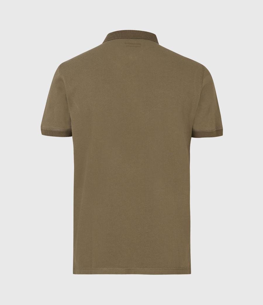 Men's Reform Short Sleeve Polo Shirt (saguaro_green) - Image 3