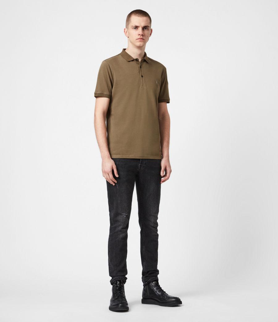Men's Reform Short Sleeve Polo Shirt (saguaro_green) - Image 4