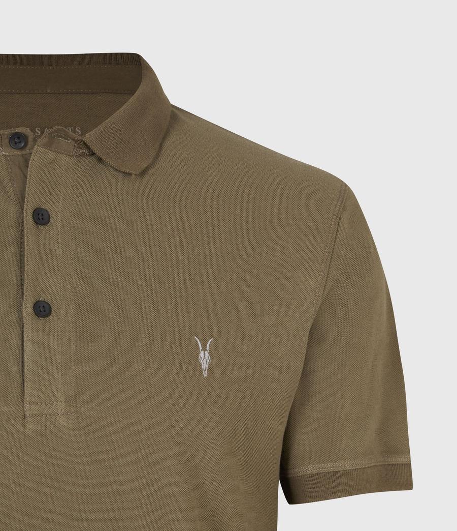 Men's Reform Short Sleeve Polo Shirt (saguaro_green) - Image 5