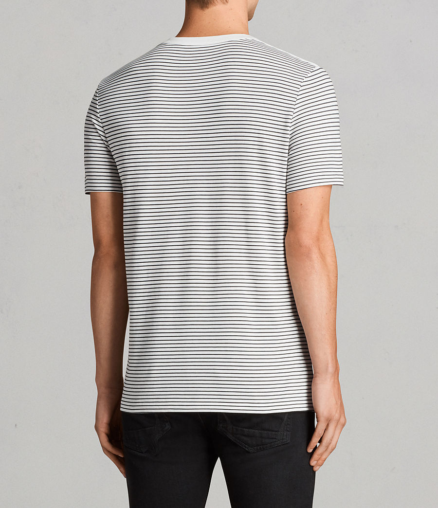 Uomo T-shirt Touch (CHALK WHITE/BLACK) - Image 3