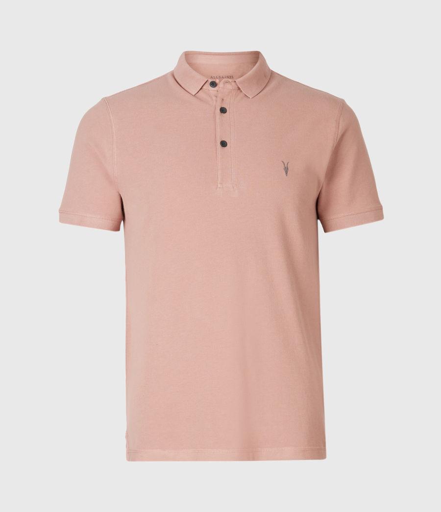 Herren Reform Short Sleeve Polo Shirt (balsastone_pink) - Image 2