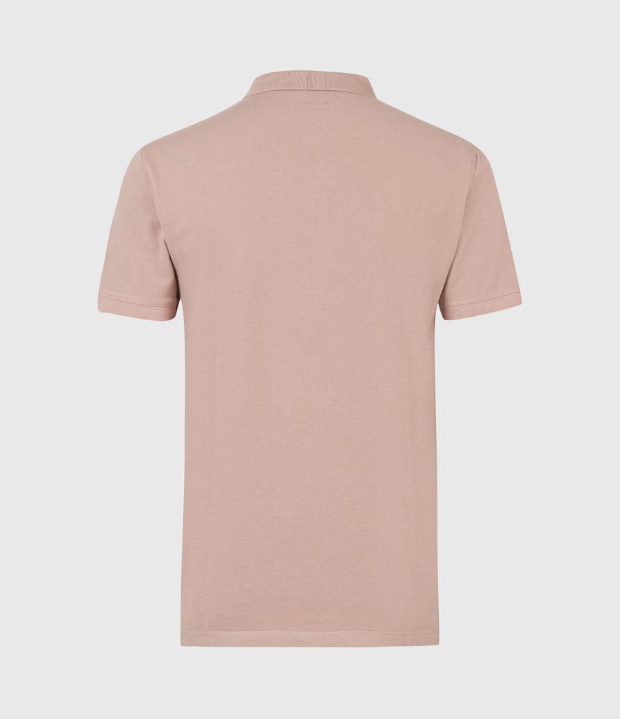Herren Reform Short Sleeve Polo Shirt (balsastone_pink) - Image 3