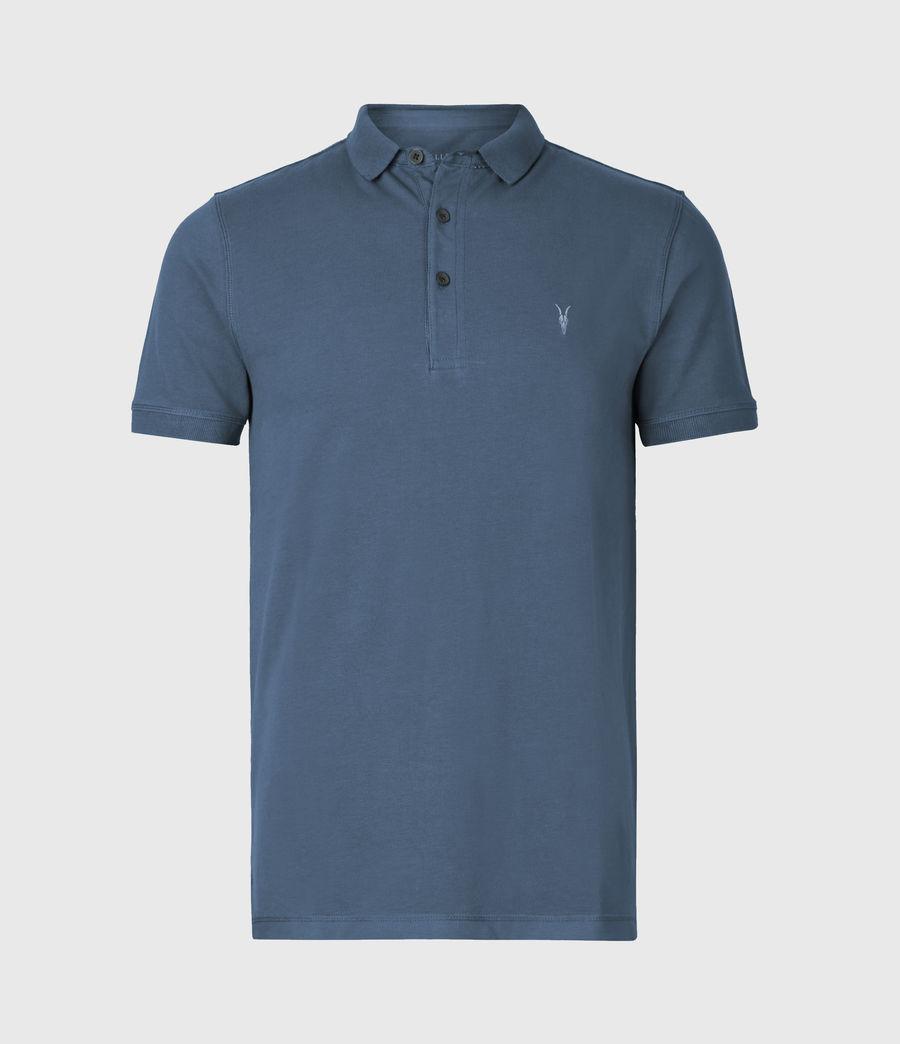 Herren Reform Kurzarm Polohemd (misty_blue) - Image 2