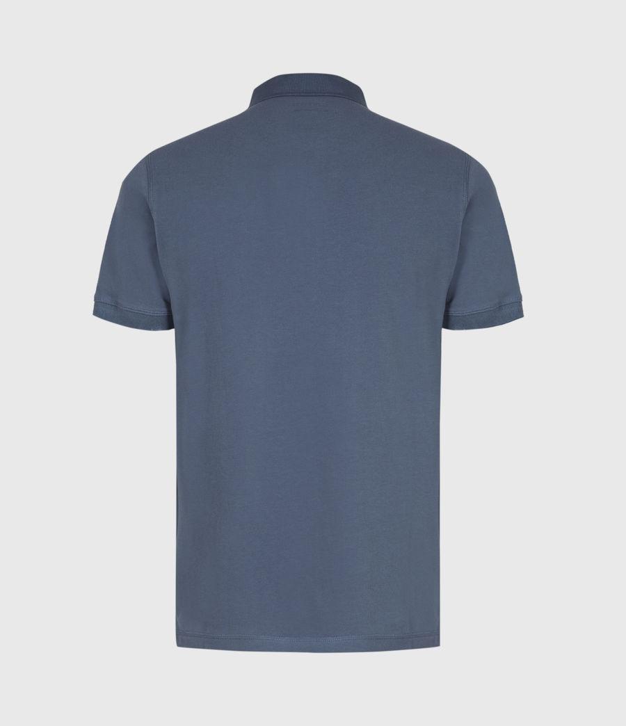 Herren Reform Kurzarm Polohemd (misty_blue) - Image 3