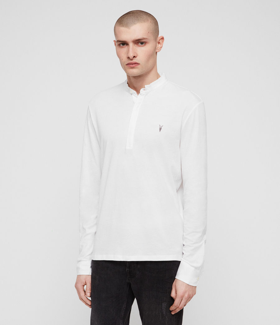 Hombres Polo Grail (optic_white) - Image 1
