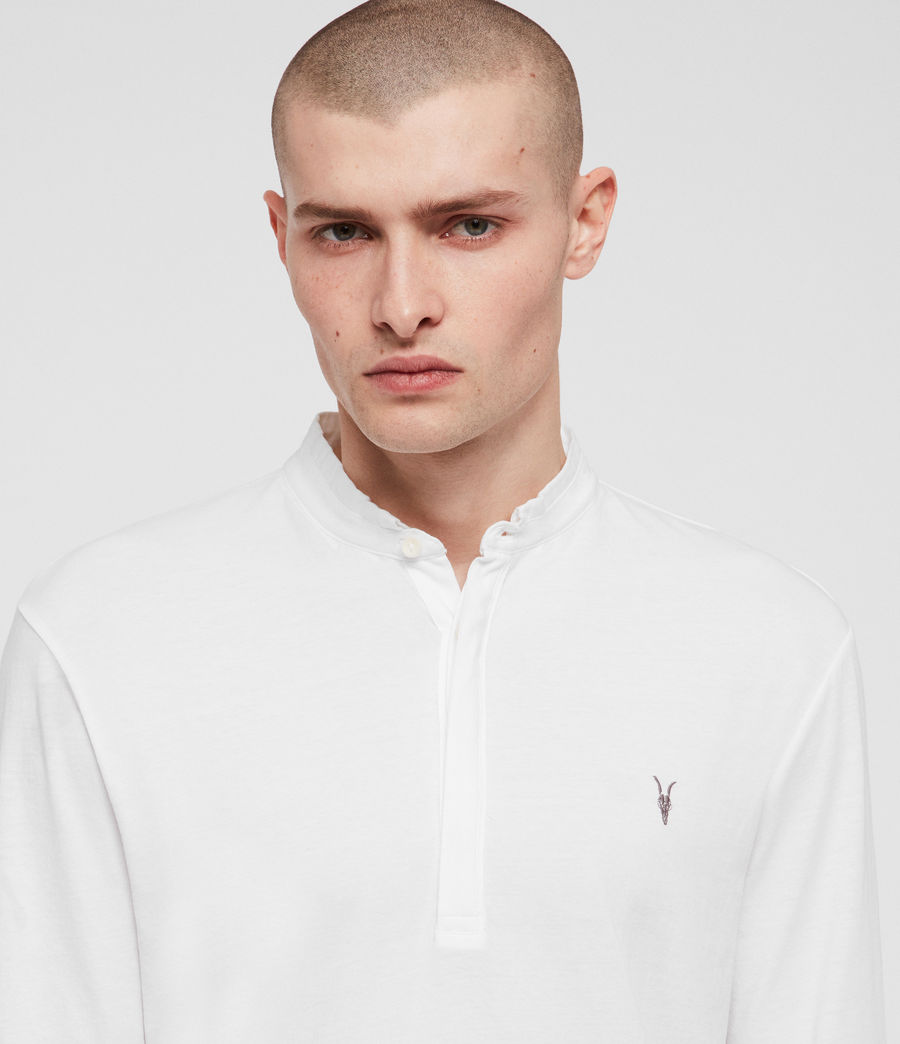 Hombres Polo Grail (optic_white) - Image 2