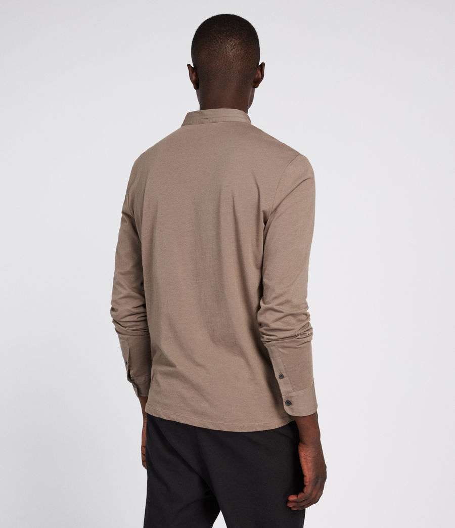 Hommes Polo Grail (core_grey) - Image 3